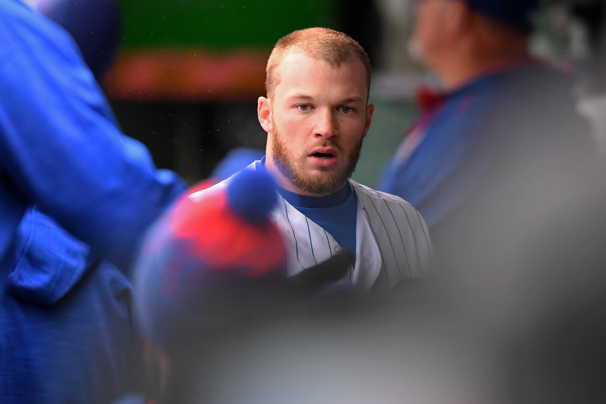 cubs rookie ian happ making adjustments   plate    field chicago tribune