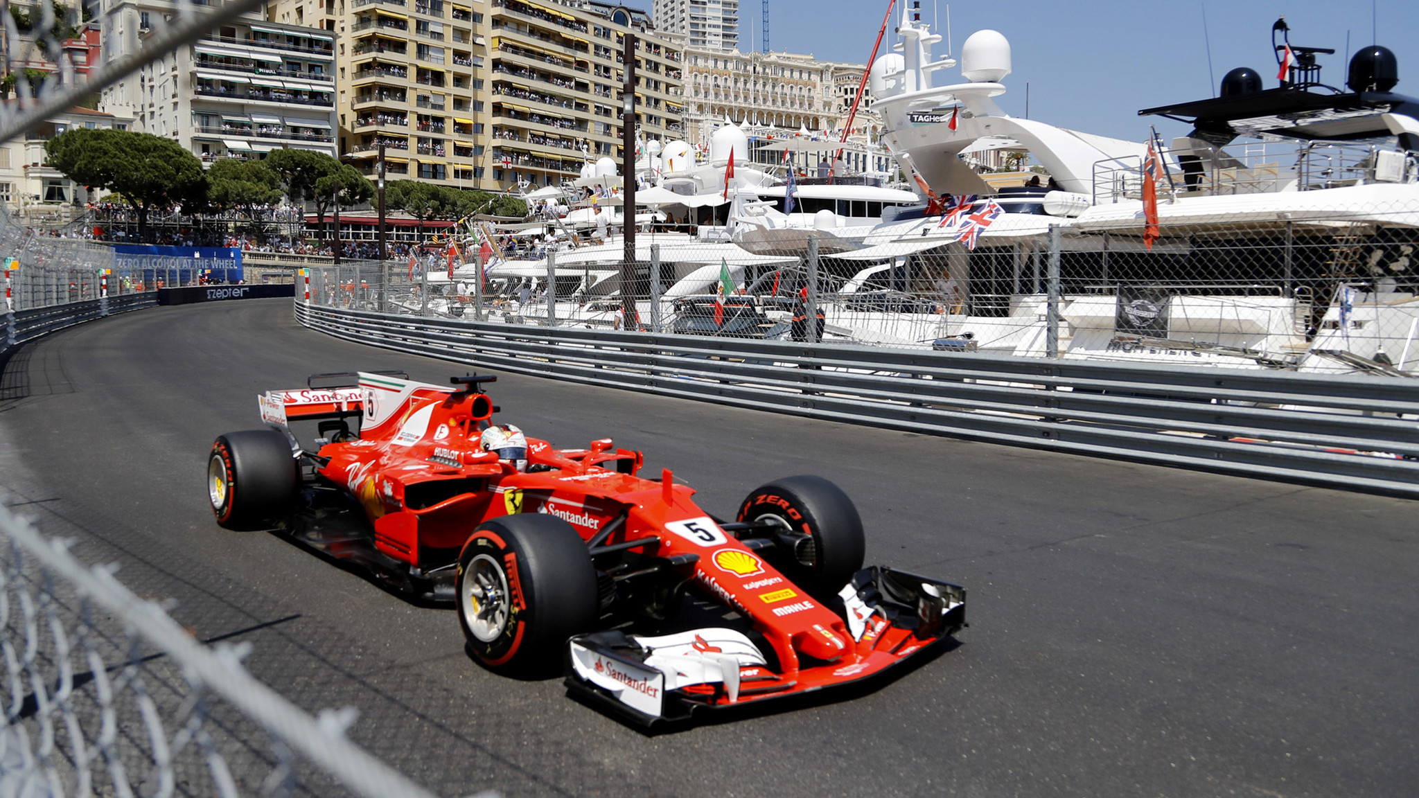 sebastian vettel wins monaco grand prix to extend lead in formula one standings la times. Black Bedroom Furniture Sets. Home Design Ideas