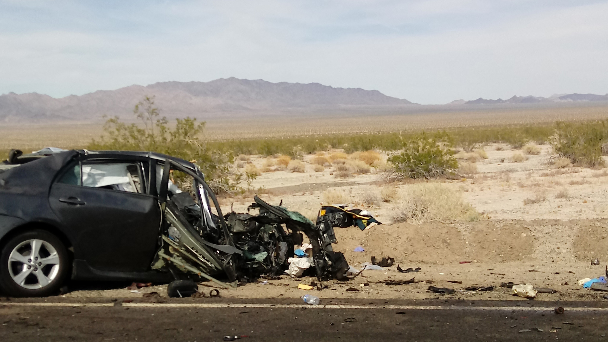 Palm Desert Auto >> Four killed in head-on collision between passenger car and ...