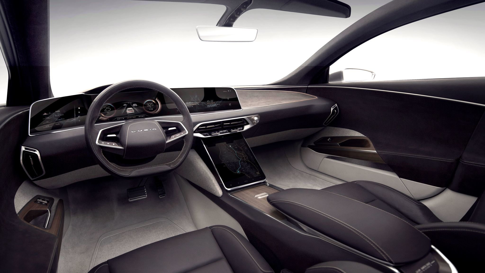 Can An Automobile Interior Evoke The Spirit Of California Ask Lucid