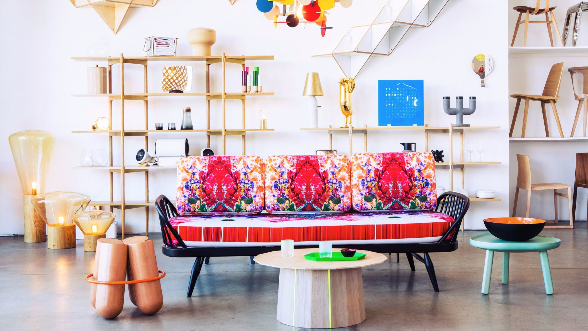 Pictured, the A+R showroom on La Brea Avenue. Check out the new showroom at the Row DTLA on June 9.