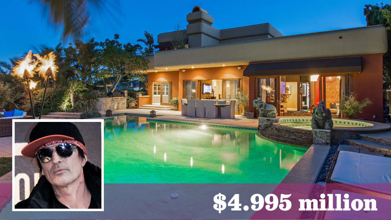 Motley Crue S Tommy Lee Seeks 5 Million For Calabasas