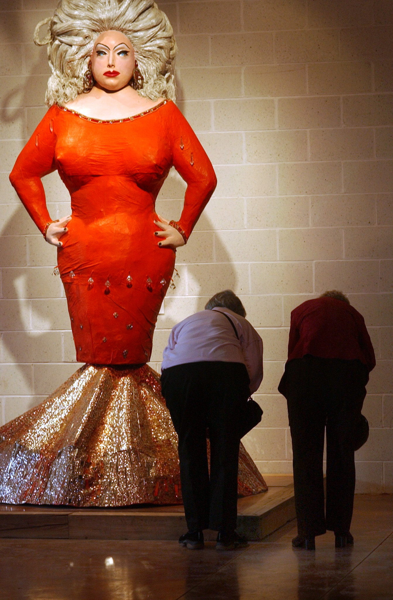 statue of divine gets a permanent home at the american visionary art