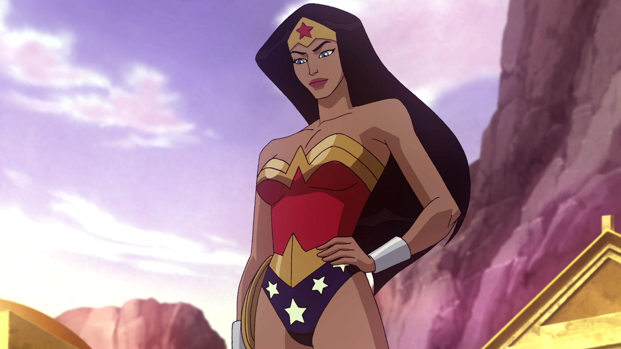 "Still from ""Wonder Woman"" animated movie."
