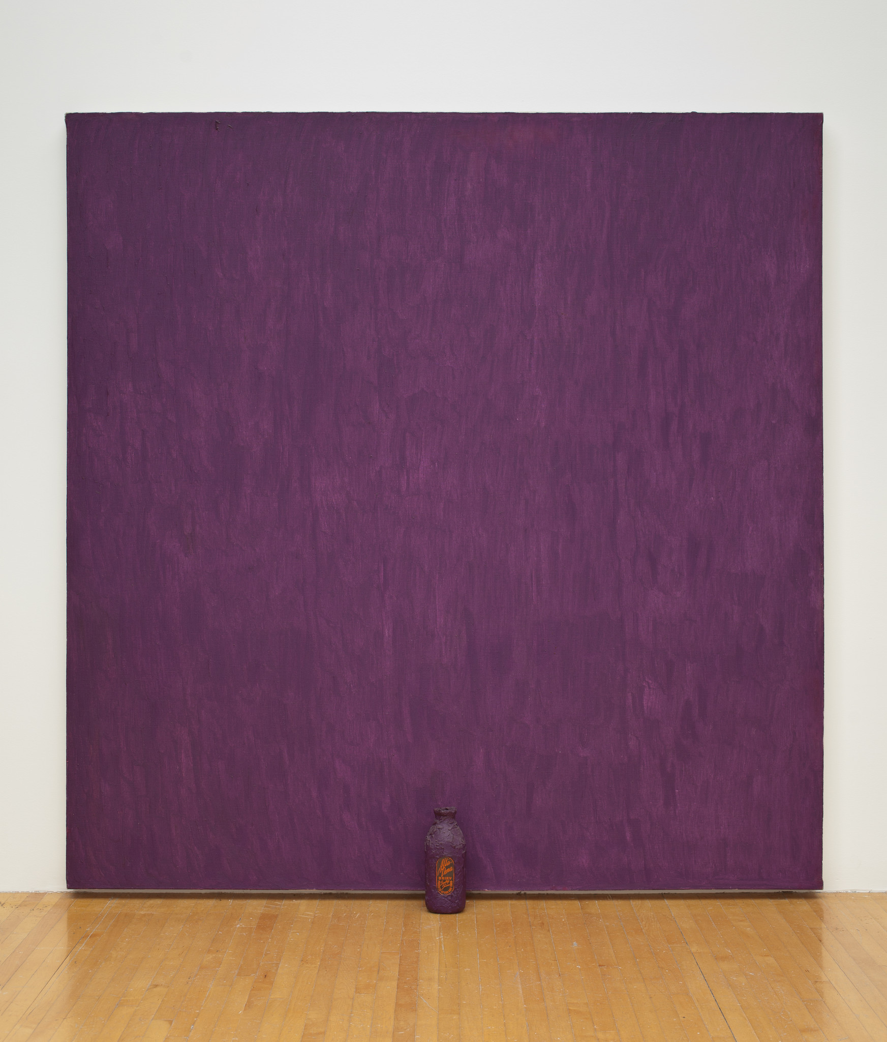 """Purple,"" 1961-62, by Joe Goode, in ""Artists of Color"" at the Underground Museum."
