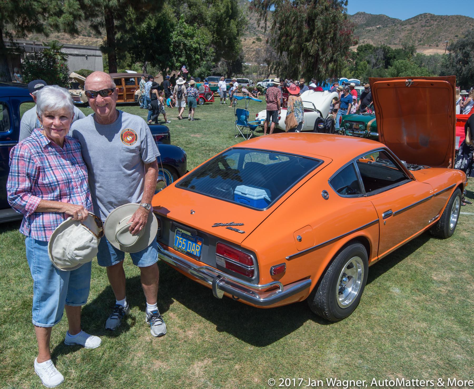 Mandarin Orange 1971 Datsun 240Z