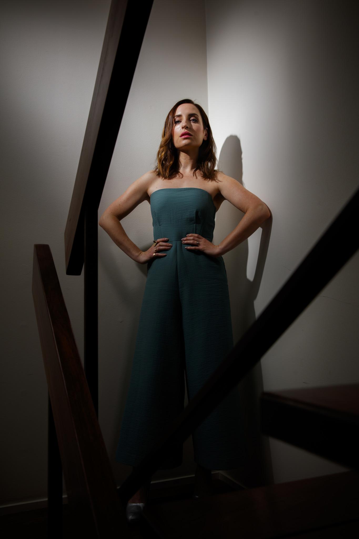 Actress and director Zoe Lister-Jones.