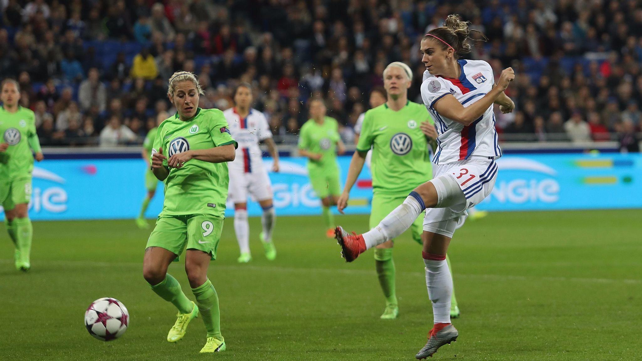1a50a376c Alex Morgan wins Women s Champions League with Lyon