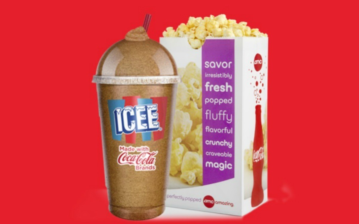 5 Icee And Popcorn Combo For Teens At AMC Theatres