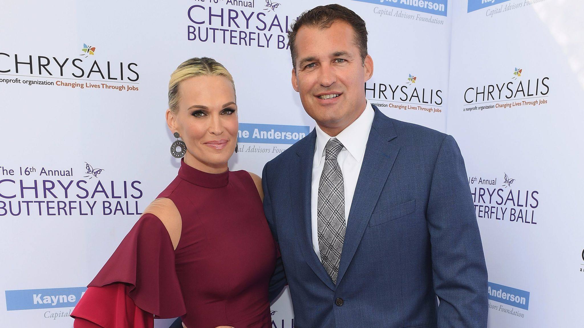 Molly Sims and producer Scott Stuber.