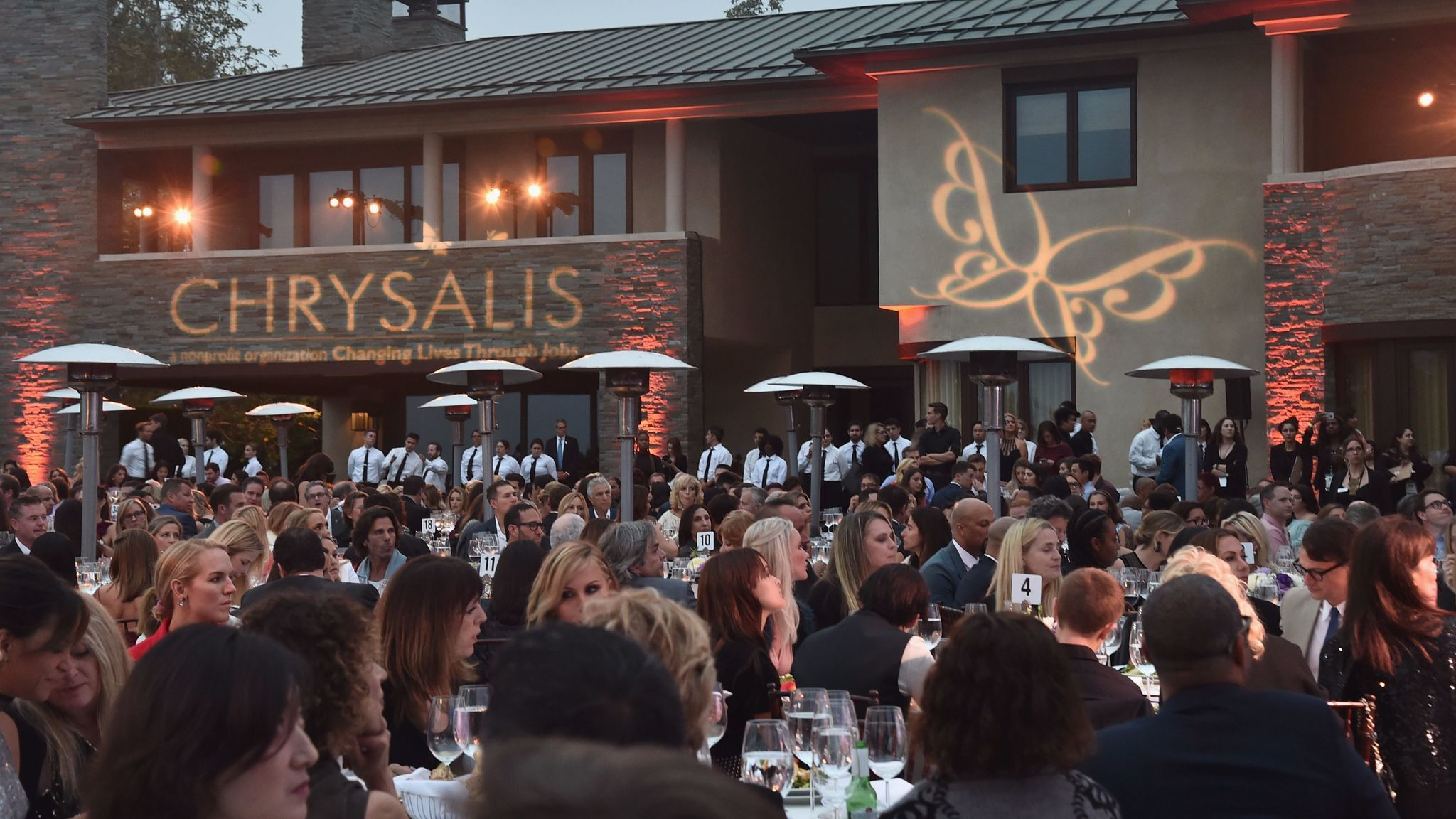 The scene at the 16th Chrysalis Butterfly Ball.