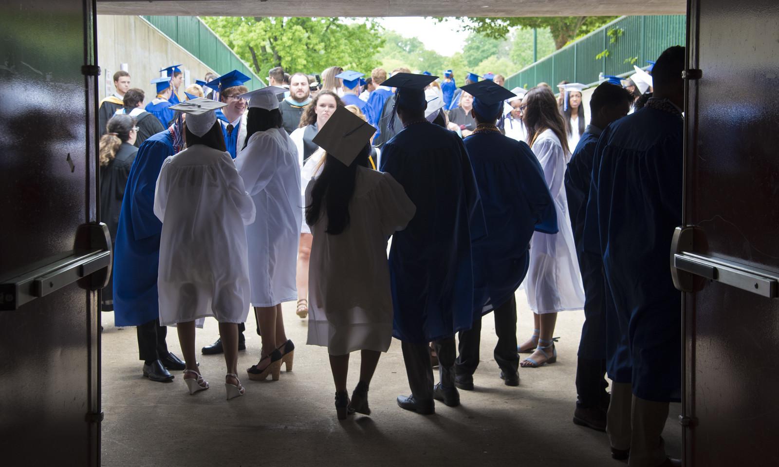 annapolis high school 2017 graduation capital gazette