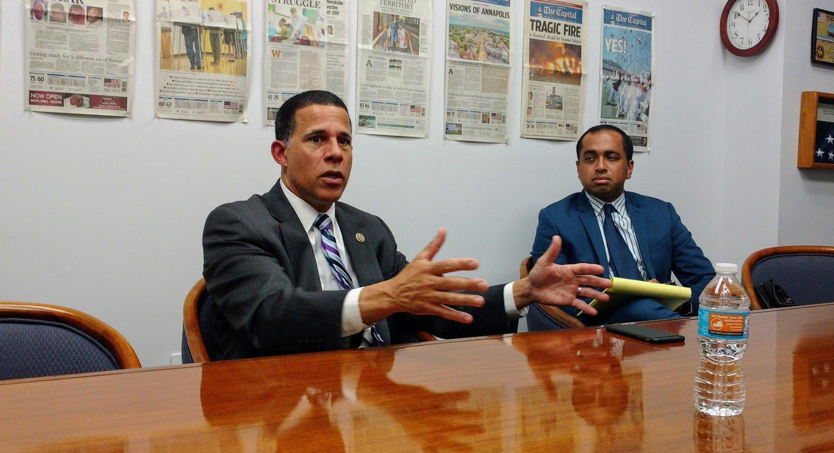 U.S. Rep. Anthony Brown reflects on first six months