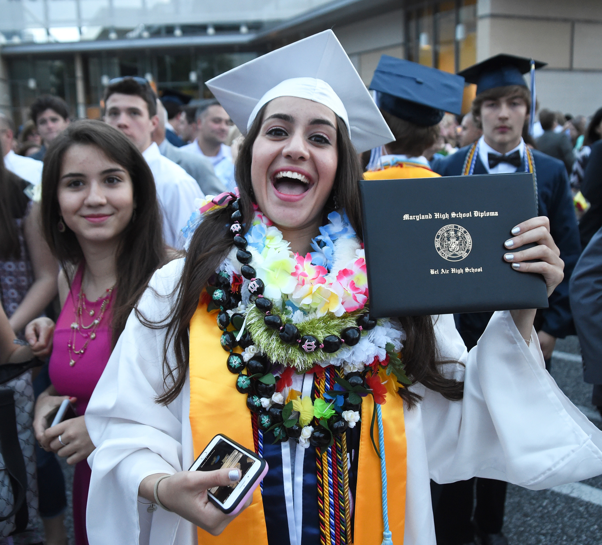 Bel Air High School Graduation 2017 The Aegis