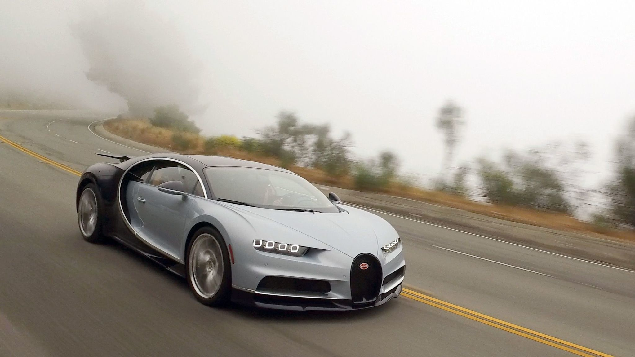 "The Chiron is electronically limited to 236 miles per hour, but has a ""speed key"" that can raise that number to 260 mph."