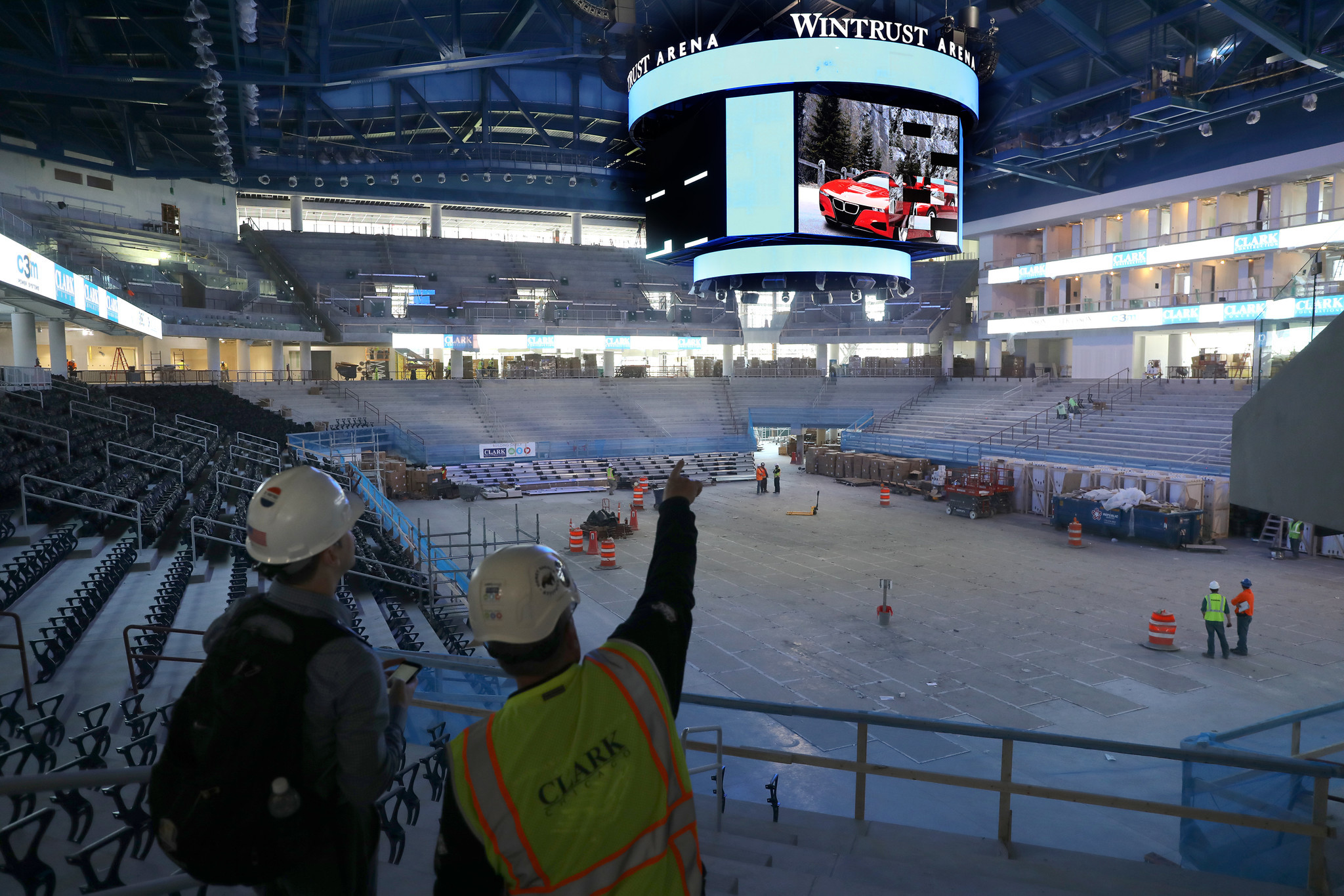 Exterior: DePaul Sensing Early Excitement About New Wintrust Arena