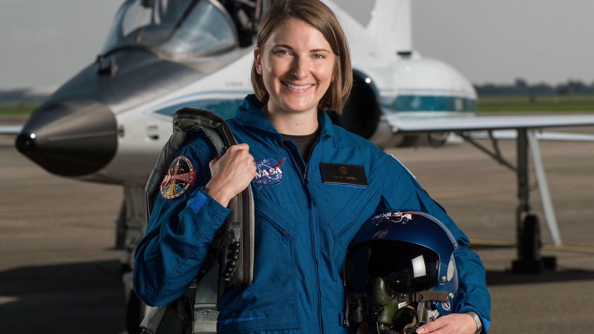 Astronaut Candidate Kayla Barron