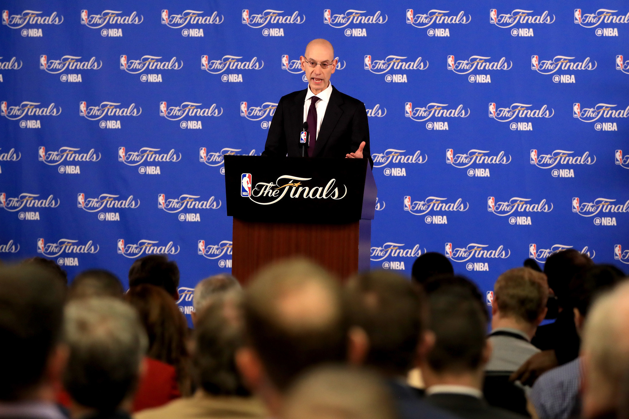 2f4ac50c3993 Righting a wrong age limit in the NBA. NBA Commissioner Adam Silver Press  Conference