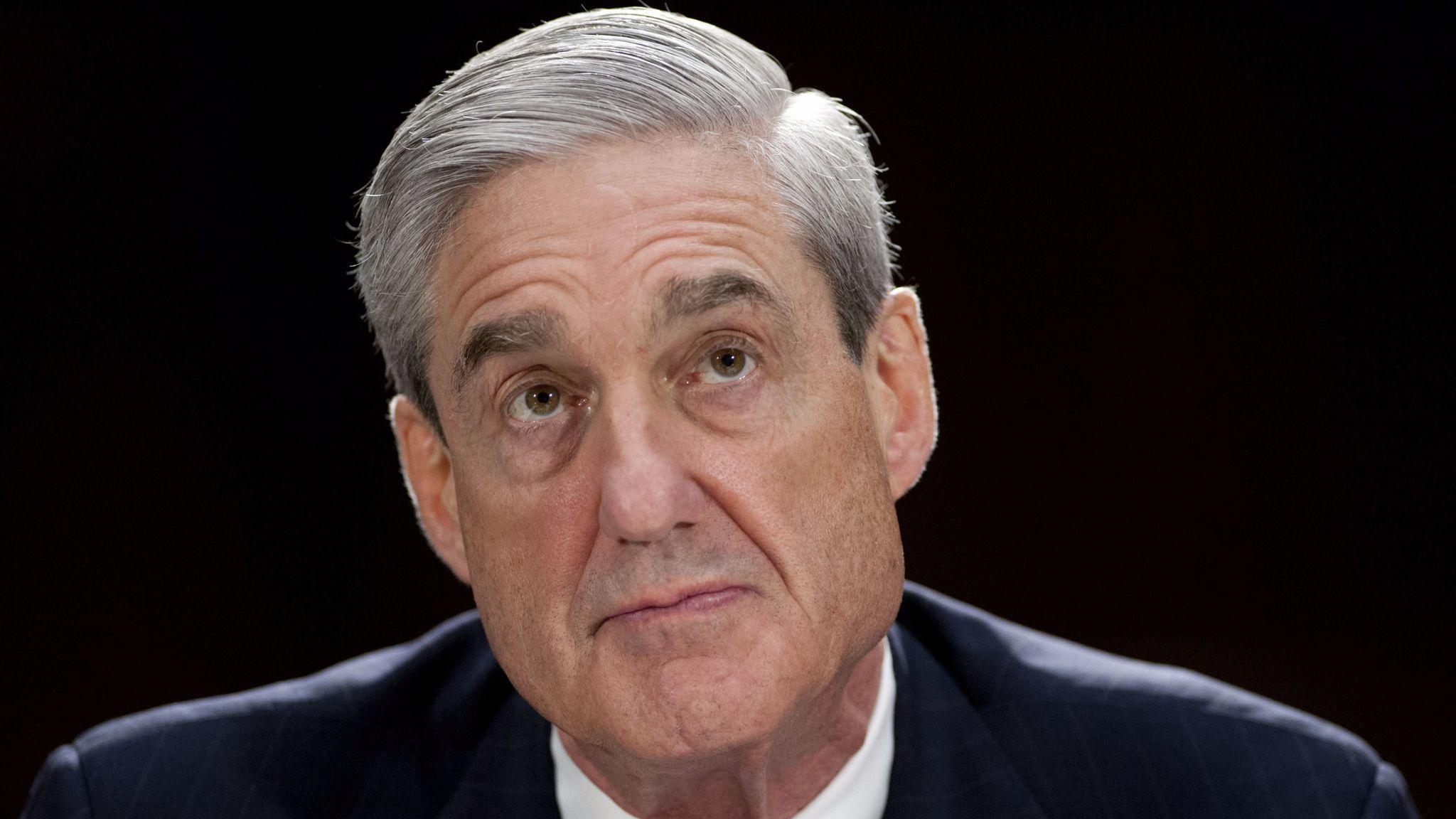 Robert Mueller, then FBI director, testifies at a 2013 hearing.