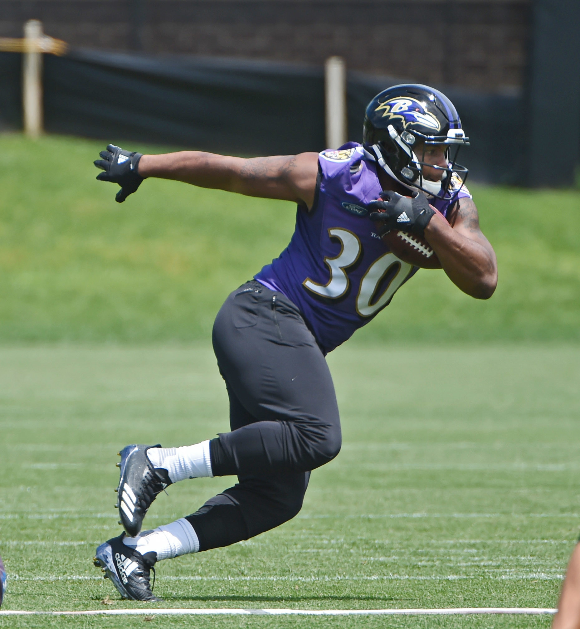 Ravens Notes: Eager To Get Past Suspension, Kenneth Dixon Soaking In Lessons From Danny Woodhead