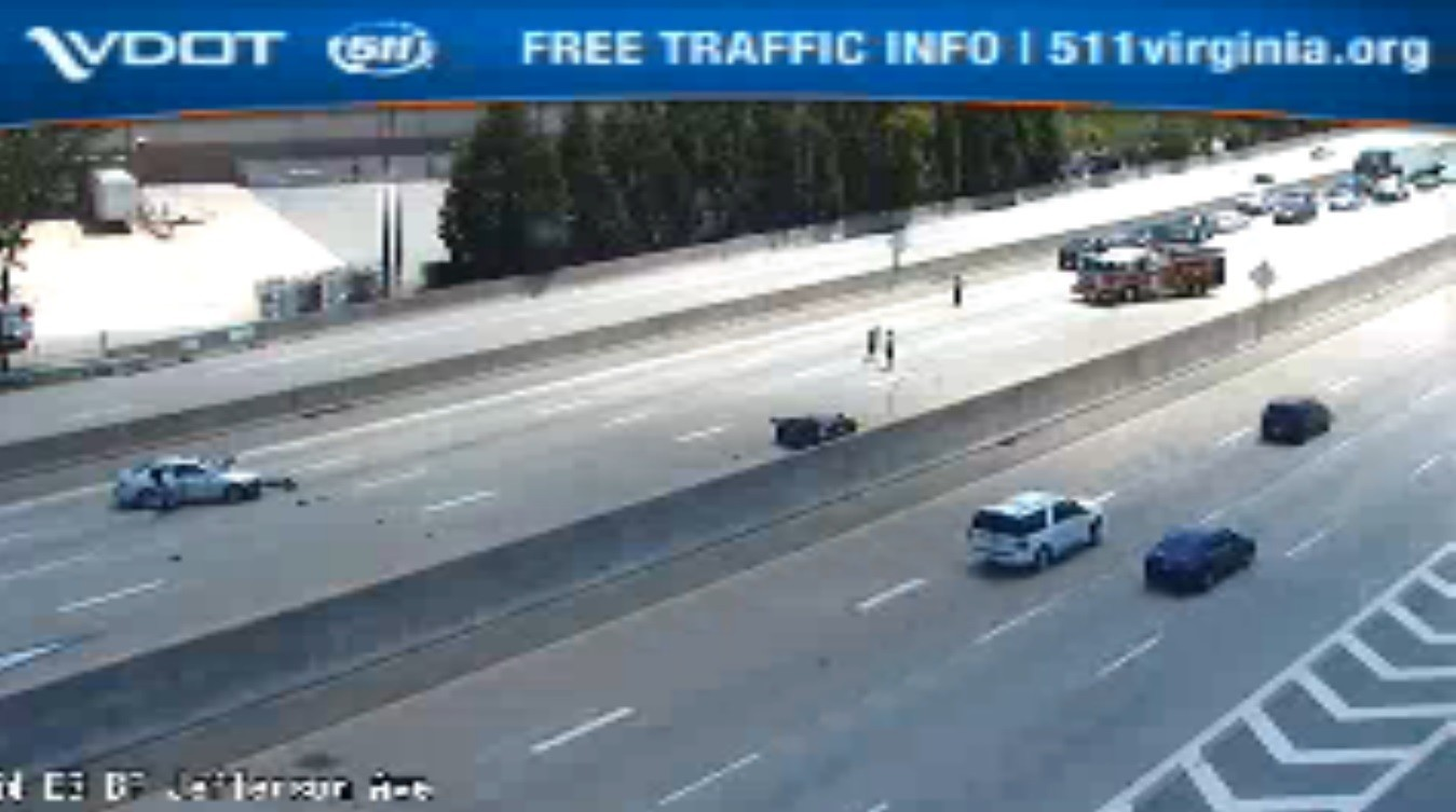 VDOT: Crash cleared on I-64 in Newport News - Daily Press