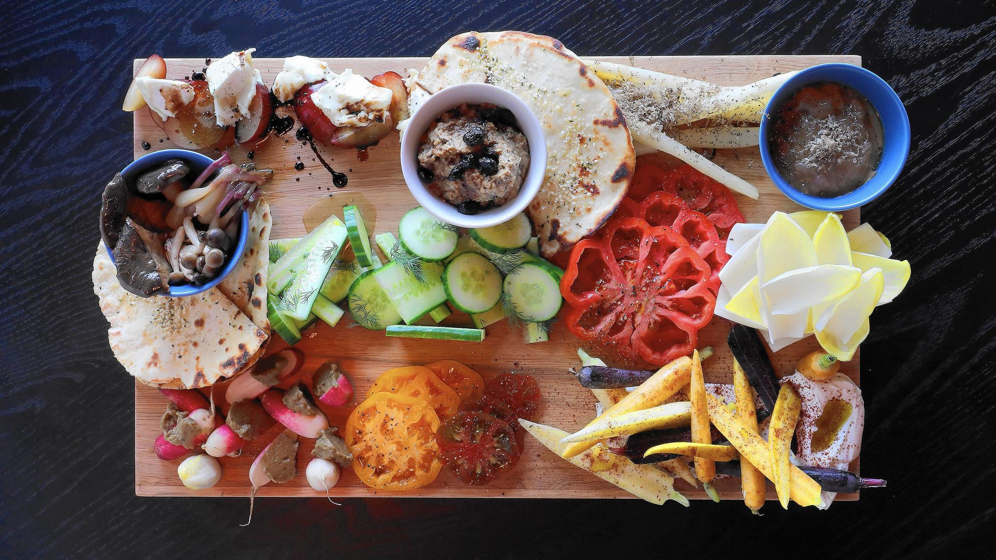 Eat This The 38 Crudite Platter At Clever Rabbit