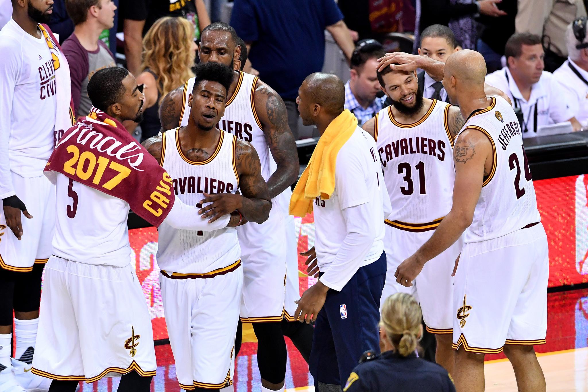 b0e768d2237 Deja vu  Cavaliers roll over Warriors