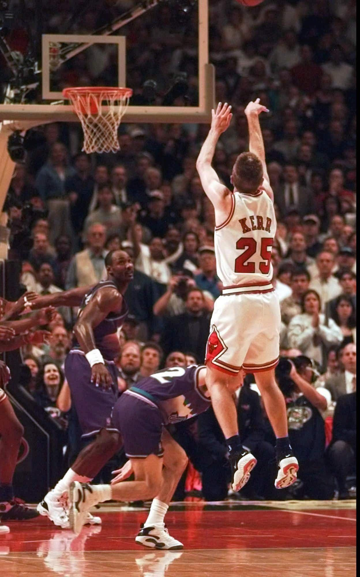 Steve Kerr looks back, 20 years later, at title-winning shot that changed his life - Chicago Tribune