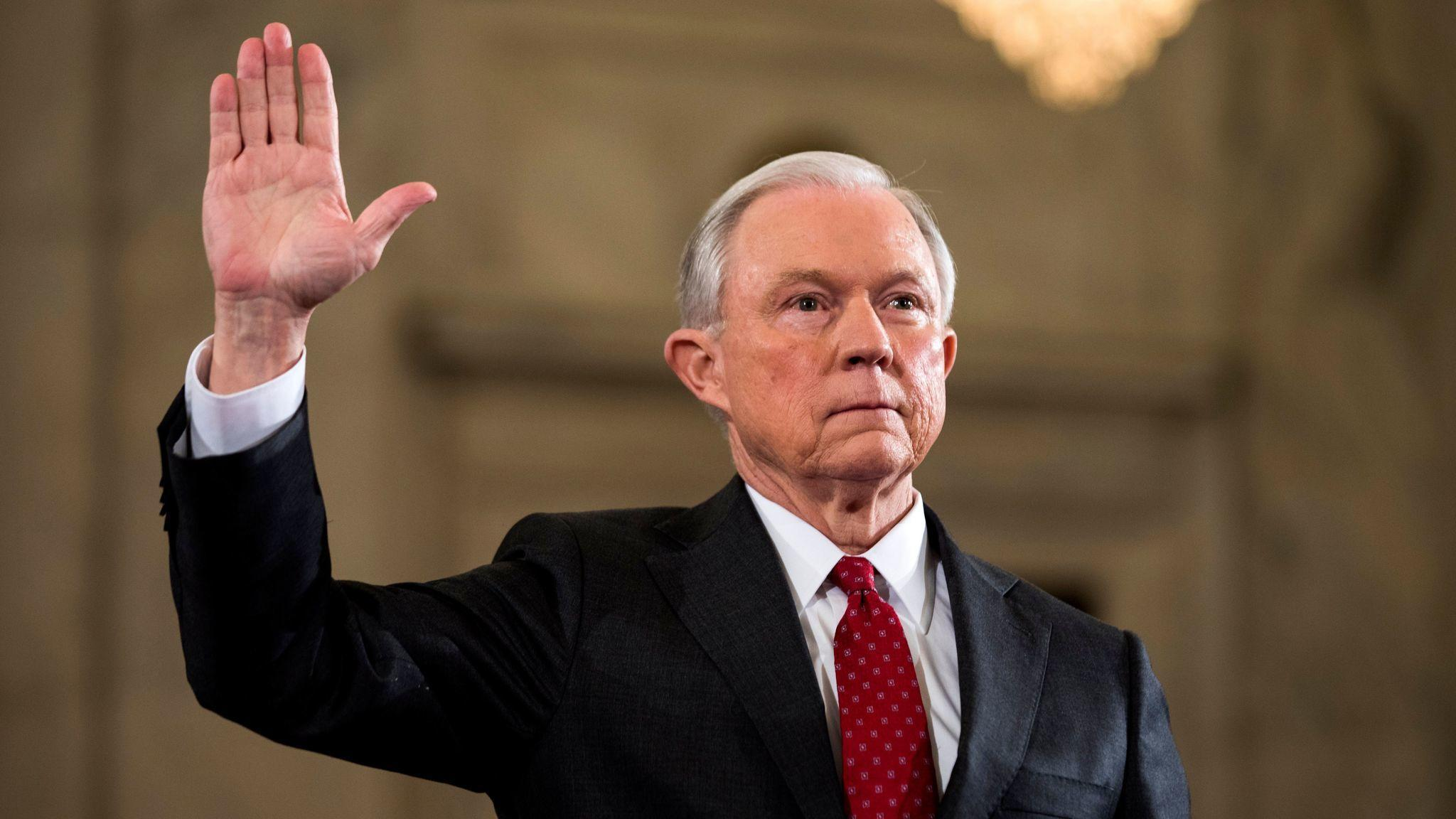 547d3b7a41 Jeff Sessions is scheduled to testify today before the Senate Select  Committee on Intelligence. If you re planning to watch or just want to  catch up on the ...
