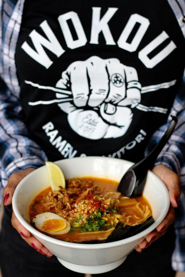 Wokou is now serving up ramen in the Village at Pacific Highlands Ranch.