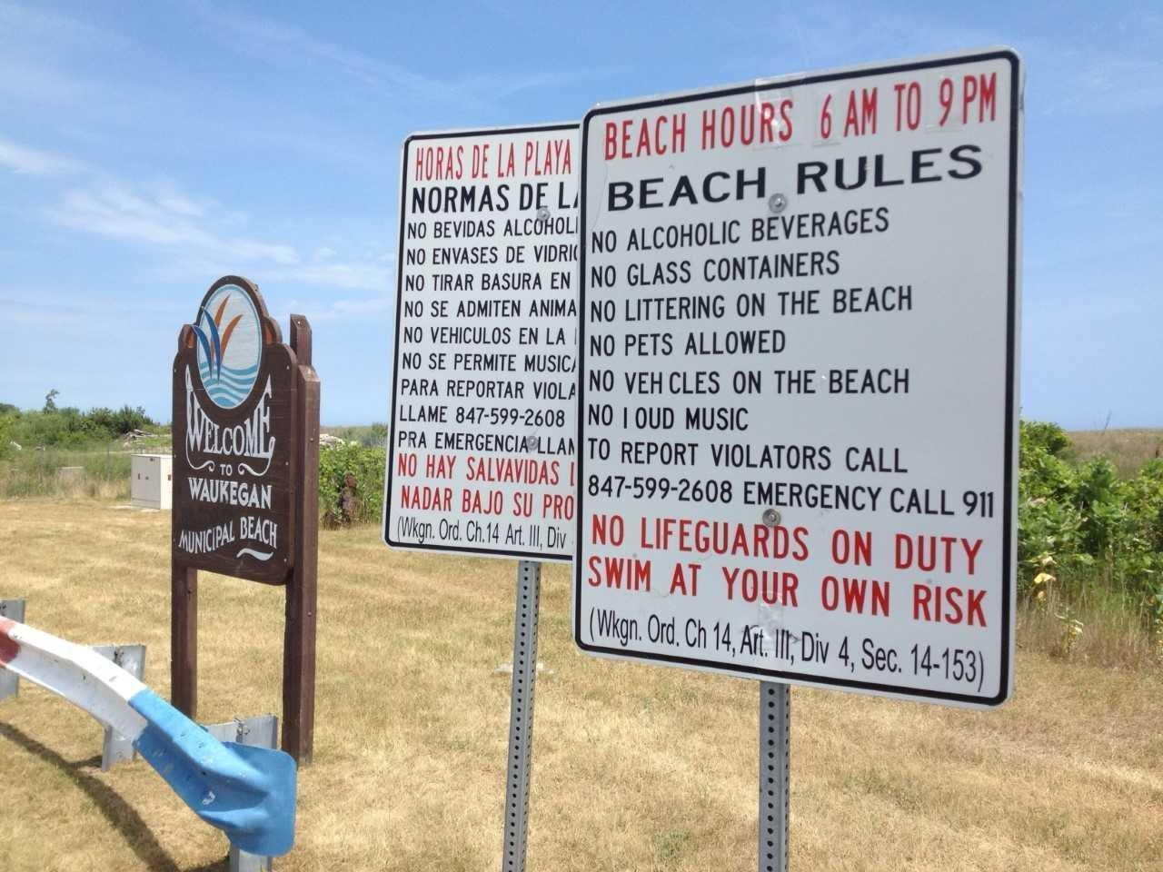 Moran Waukegan Beach Weekend Parking Fee Turns Up The Heat Lake County News Sun