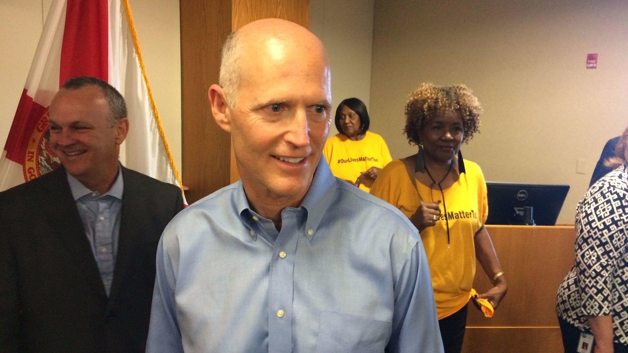 Scott Touts New Budget Agreement In West Palm Beach Sun Sentinel