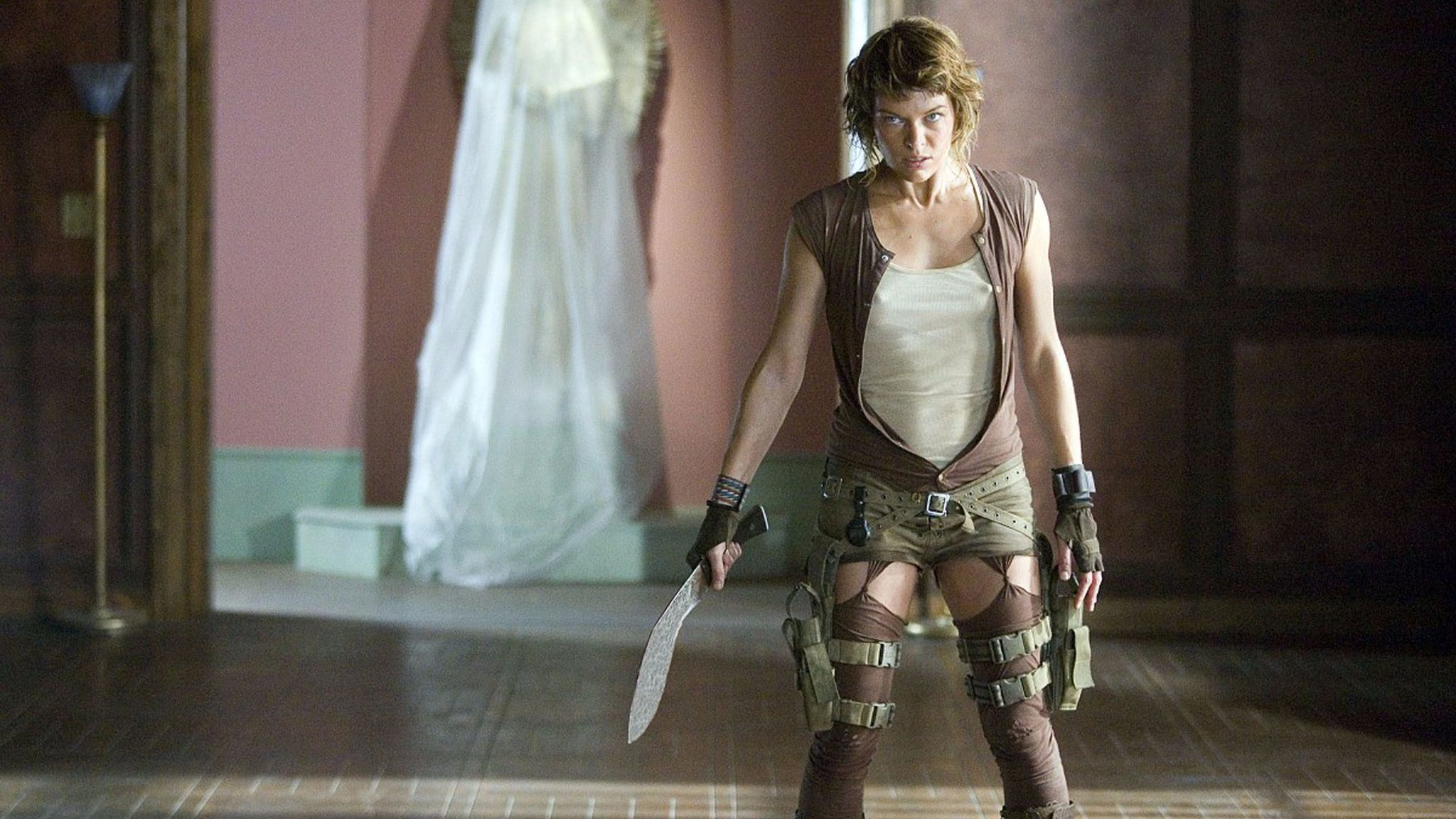Milla Jovovich stars in Sony Pictures' action-thriller