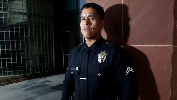Officer Dante Pagulayan, who went to high school and college with Matthew Medina, is Medina's partner in the LAPD's Harbor Division.
