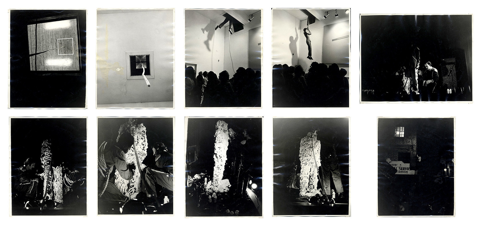 """The Green Hotel Performance,"" 1972, by Joe Ray at Diane Rosenstein."