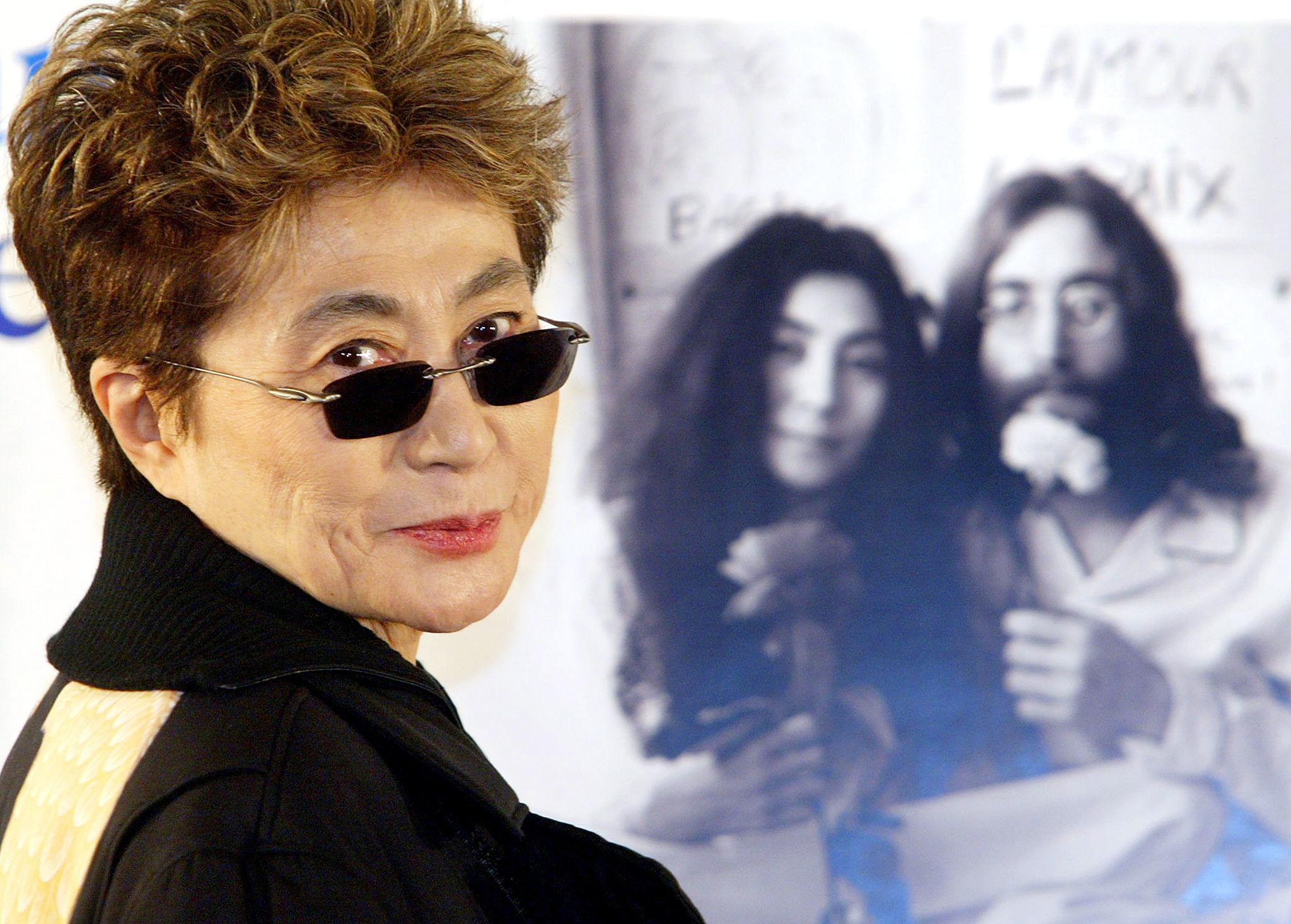 John Lennon Y Yoko Ono: Yoko Ono Set To Receive Credit With John Lennon As