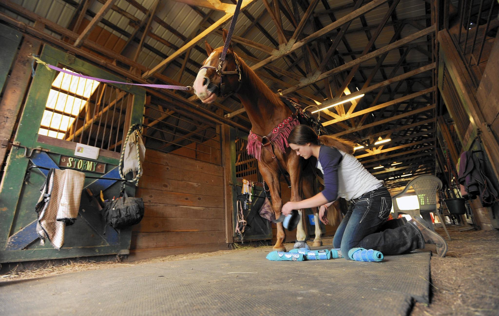 Catonsville Student Gallops Toward National Rodeo