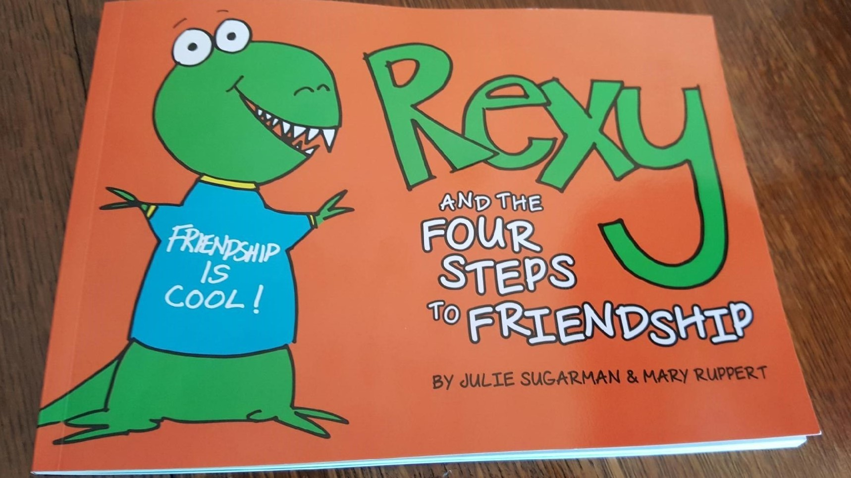 """""""Rexy and The Four Steps to Friendship"""""""