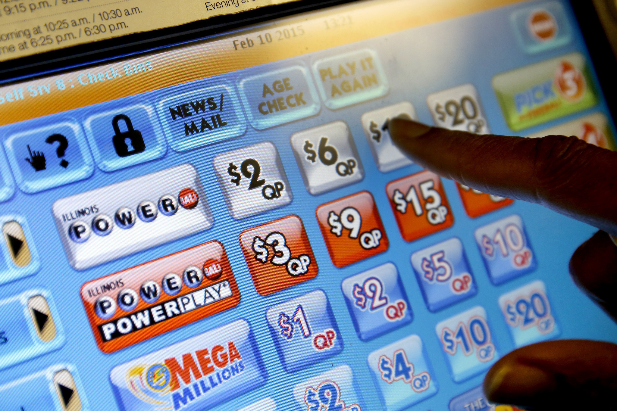 mega millions sweepstakes phone call powerball mega millions may be victims of illinois budget 3958