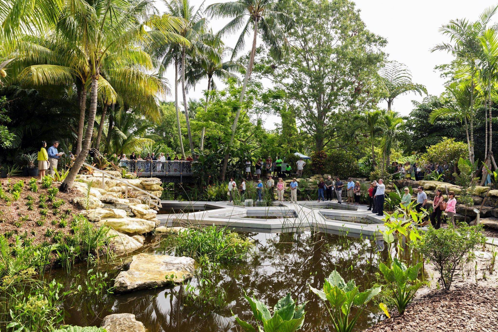Windows On The Floating World Blooms At Mounts Botanical Garden Sun Sentinel
