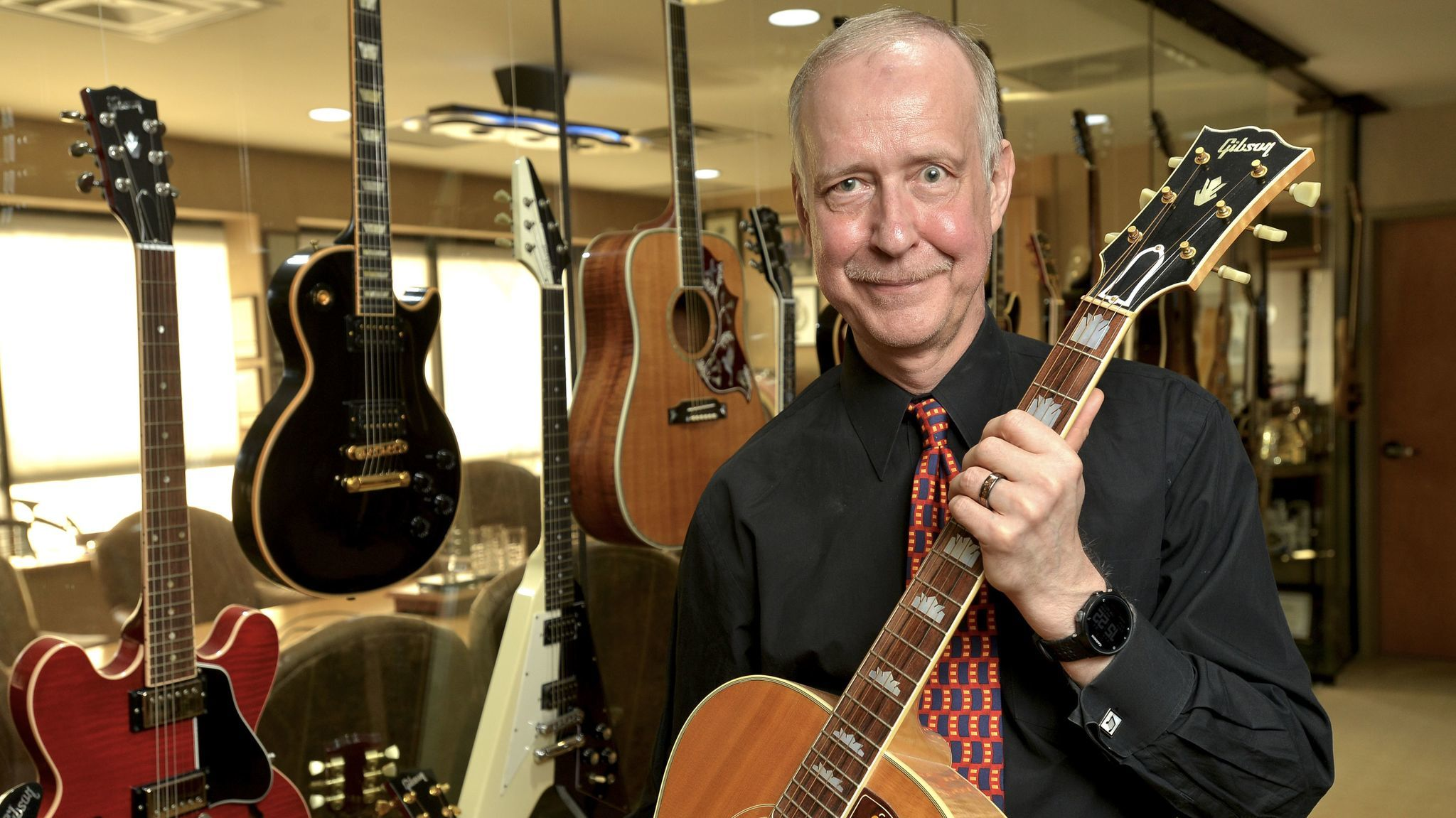 Gibson Brands chief Henry Juszkiewicz is working to make the guitar company into 'the Nike of the music world'