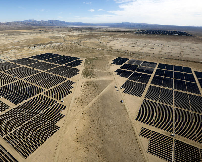 California invested heavily in solar power. Now there's so ... on