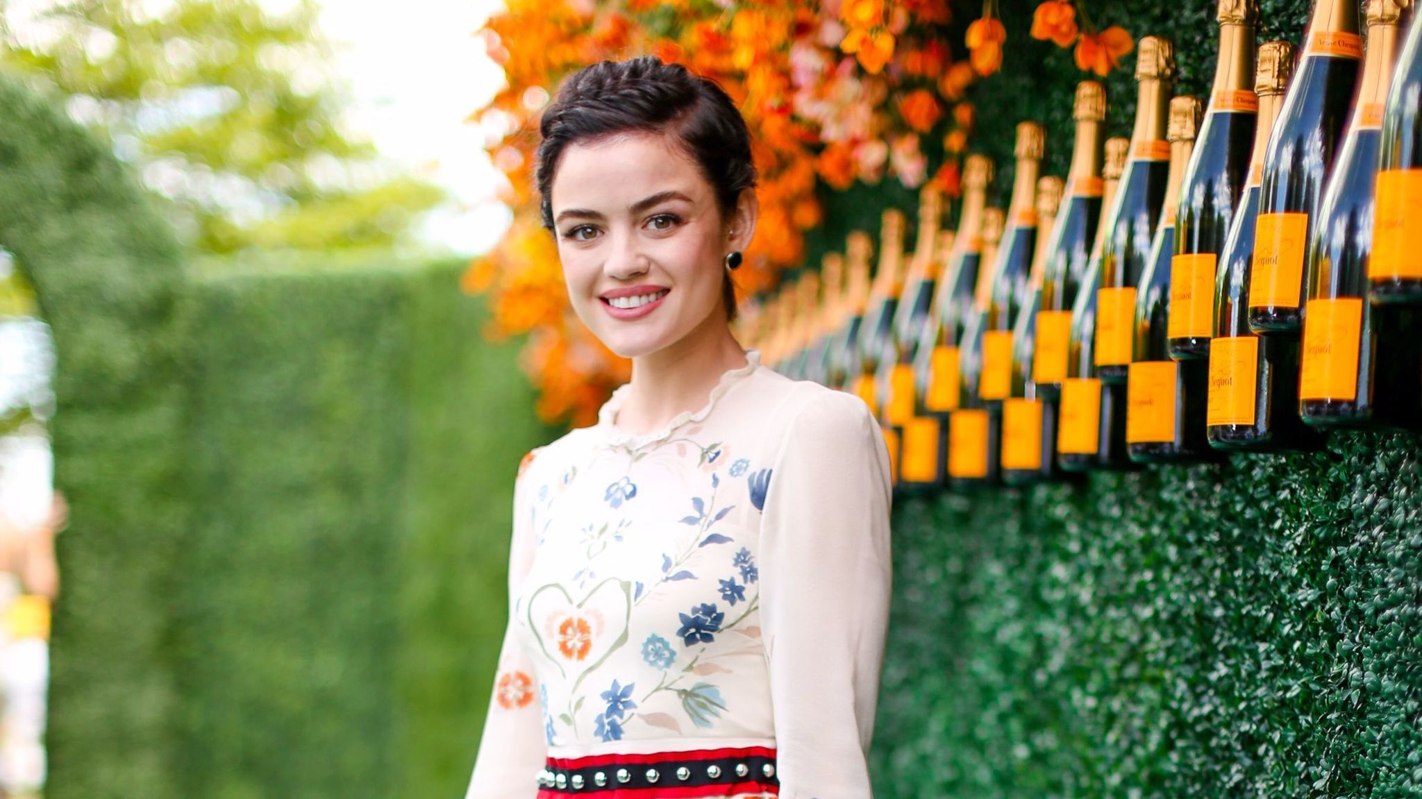 Lucy Hale attends the Veuve Cliquot Polo Classic in Jersey City, N.J., on June 3, 2017.