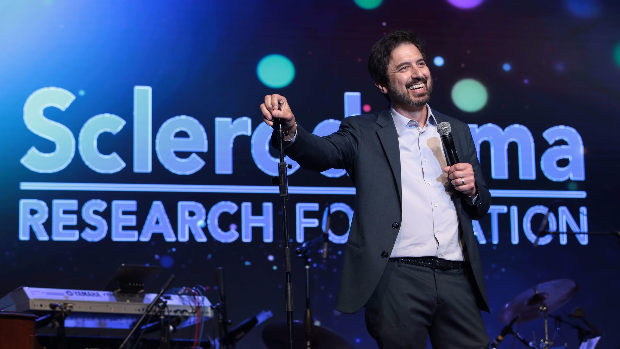 Ray Romano performs during the Cool Comedy Hot Cuisine event.