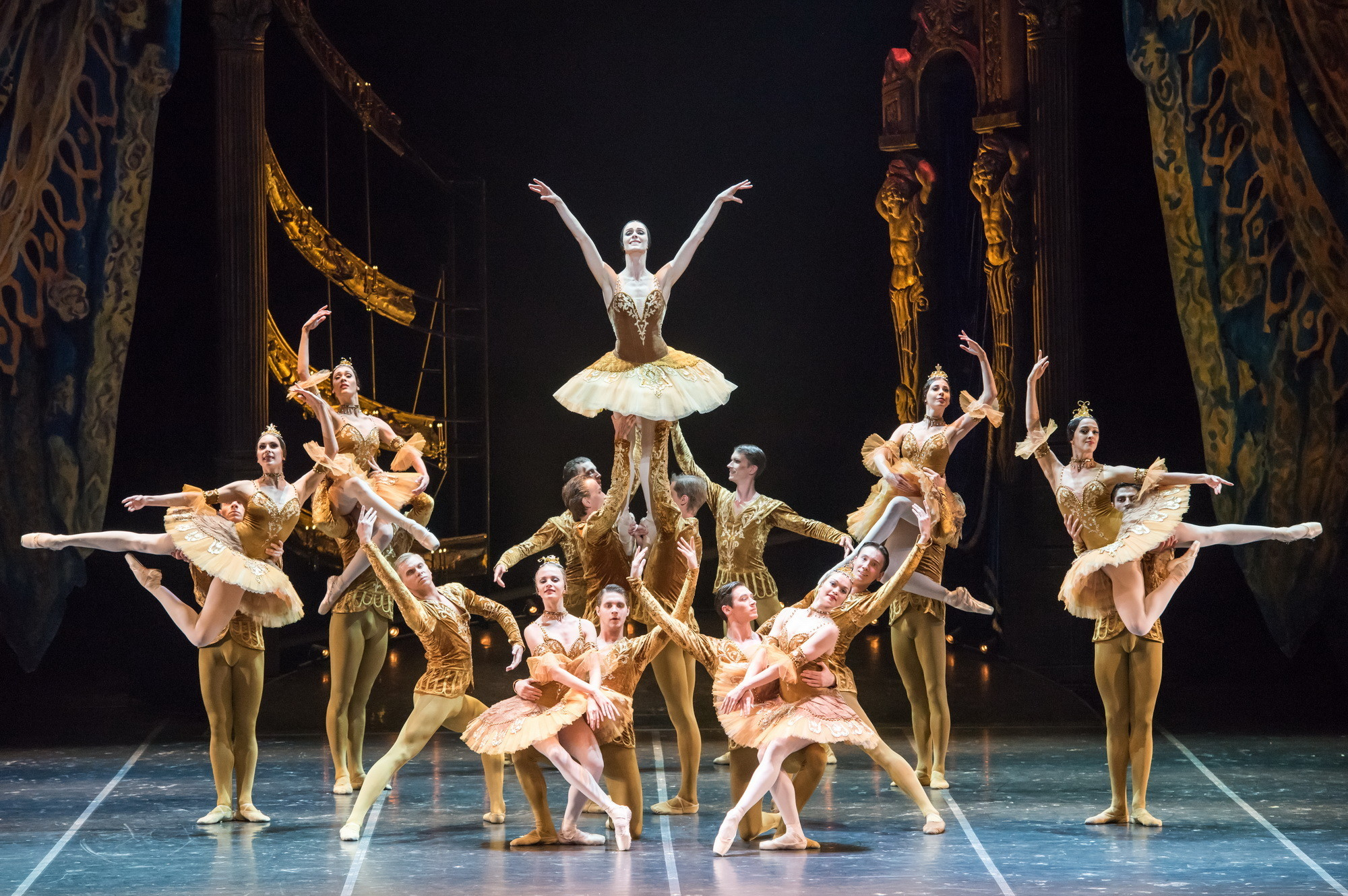 """""""Red Giselle"""": Updated with sumptuous costumes and sharp choreographic revisions."""