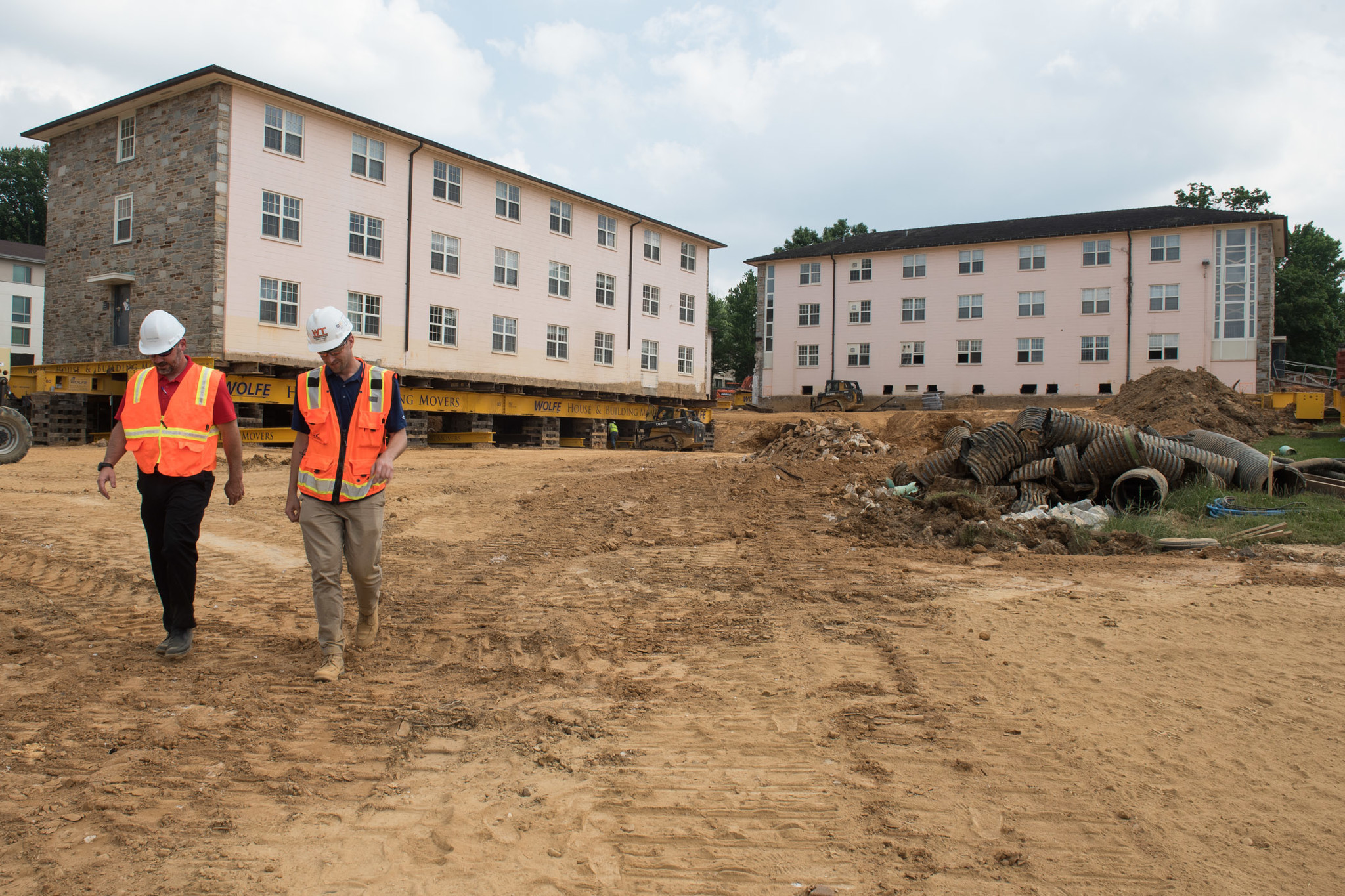 Workers On Wheels >> Goucher College will move dorms to make room for new ...