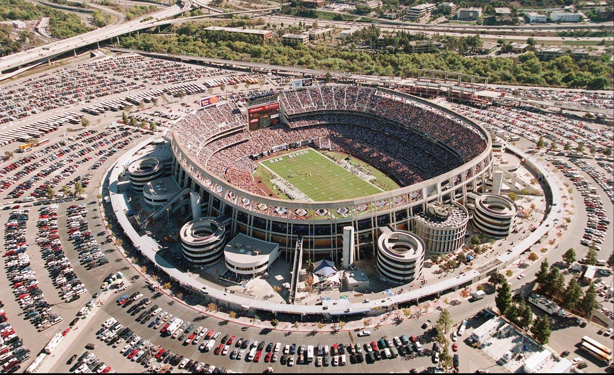 Qualcomm Stadium No Longer Exists Now What The San