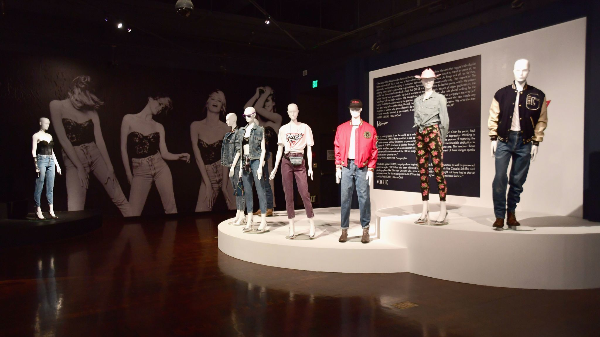 The FIDM Museum is honoring the Guess brand with an exhibit in downtown L.A.