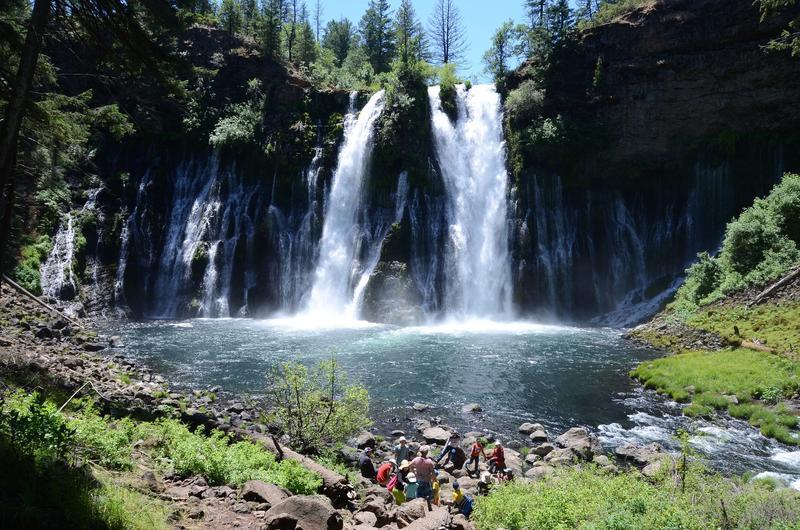 Burney Falls, northeast of Redding, Calif.