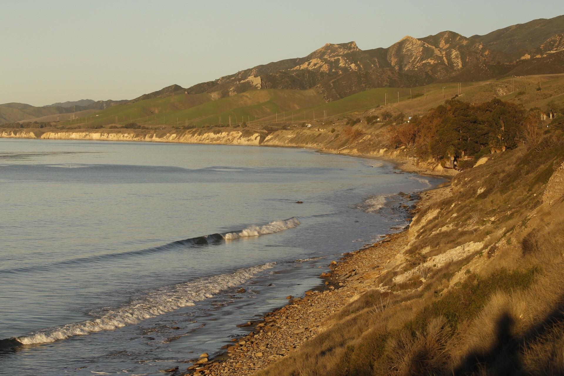 Sunrise on the Gaviota Coast north of Santa Barbara on Feb. 10, 2016.